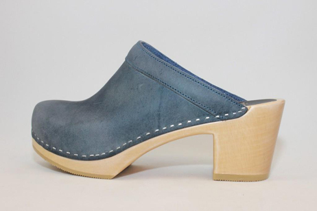 Keene PS Open Back Clog<br />Navy Roughman