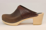 Keene WS Open Back ClogBrown Roughman