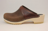 Woodstock WS Open Back ClogBrown Roughman