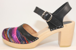 Hippie Yarn PS Super High Heel SandalBlack Top Grain