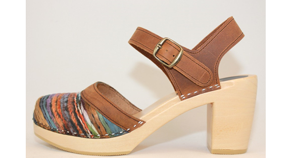Hippie Yarn PS Sandal<br />Brown Oil Tan